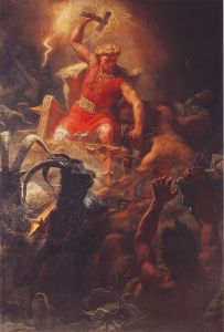 Thors Battle with the Giants 203x300 - Norse Mythology by Neil Gaiman | Review