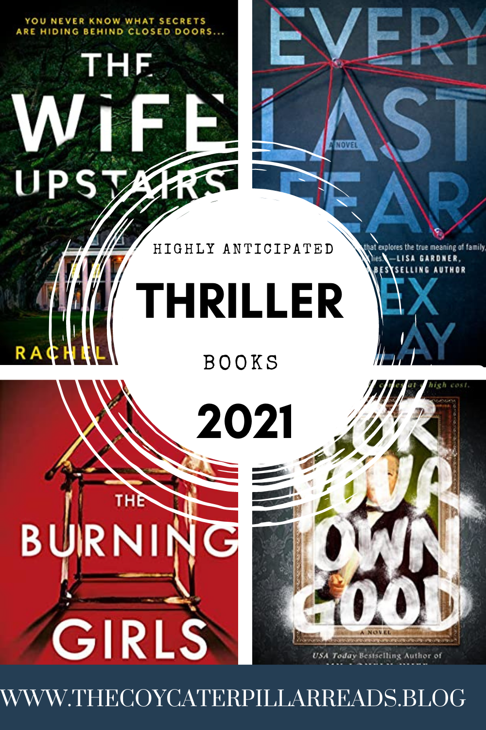 highly anticipated - 10 Highly Anticipated Thriller / Mystery Novels To Read in 2021