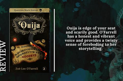 Add a subheading 3 - Blog Tour: Ouija by Zoe-Lee O'Farrell