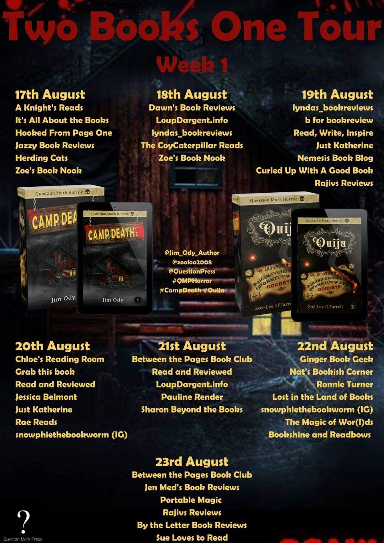 QMP Week 1 - Blog Tour: Ouija by Zoe-Lee O'Farrell