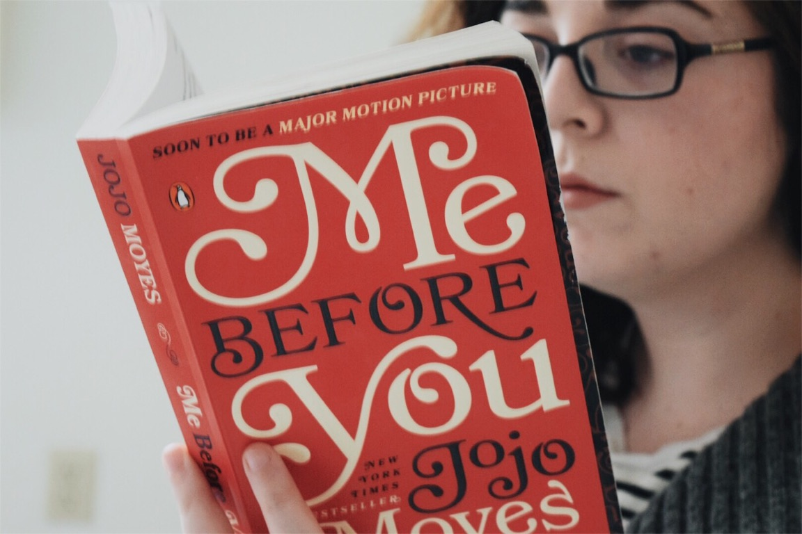"""Book Review """"Me Before You"""" The Cozie"""
