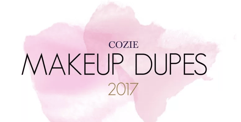 Top Makeup Dupes for 2017