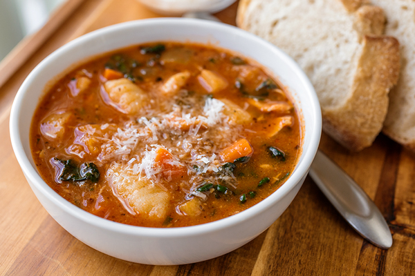 Italian Chicken and Autumn Veggie Soup