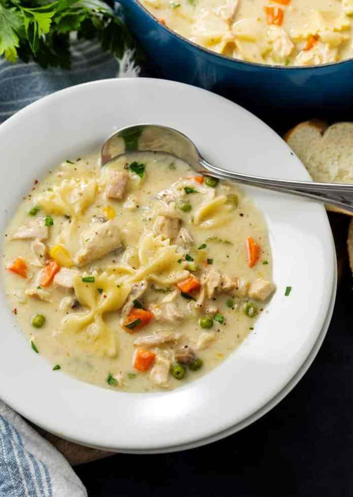 Turkey Noodle Soup The Cozy Cook