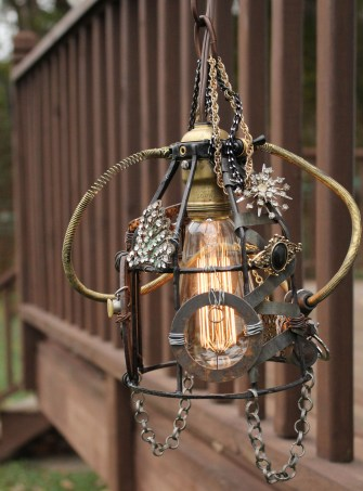 Steampunk Lamp 040 EDIT