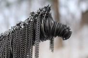Black Horse Sculpture, Cats 005 - Copy