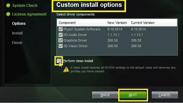 Nvidia drivers update