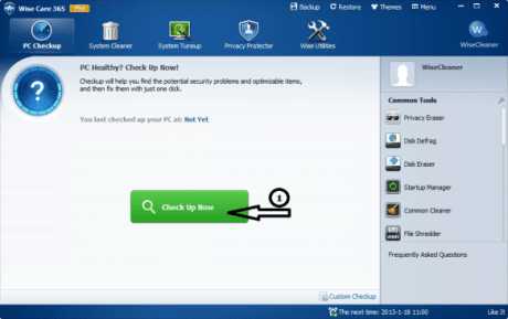 Download Free Wise Care 365 Pro Serial Key
