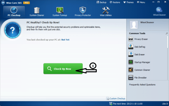 Wise Care 365 Pro 5.4.1 Crack With License Key 2019 Download