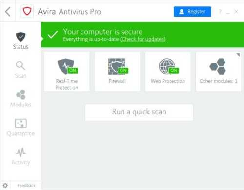 Avira Antivirus Pro 2018 Crack + License Key Free Download