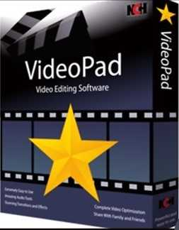 VideoPad Video Editor 6.10 Crack + Serial Key Full Free Download