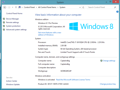 Windows 8.1 Full Version Crack + Keygen Key Free Download