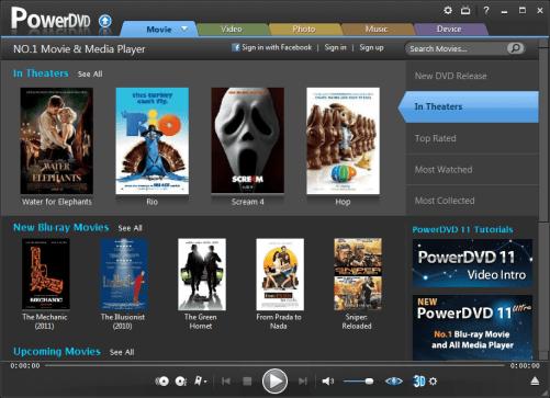 CyberLink PowerDVD Full Version Crack + Serial Key Free Download