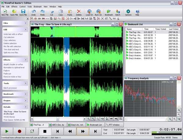 WavePad Sound Editor 11.17 Crack + Registration Code Download