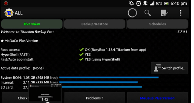 Titanium Backup PRO APK Crack With Serial Key Free