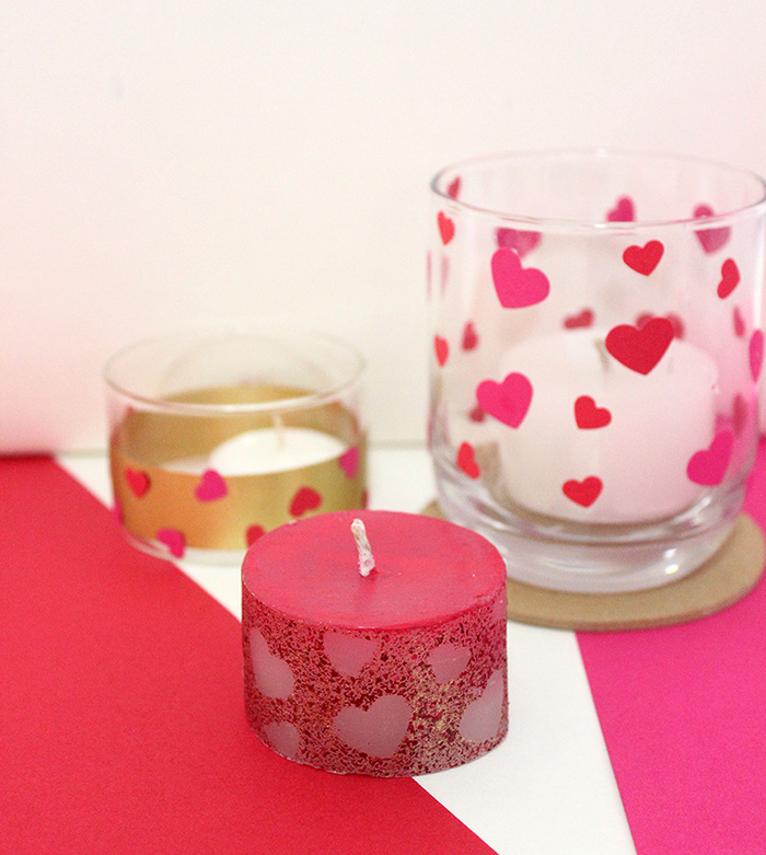 3 DIY Valentines Day Candle Ideas The Craftables