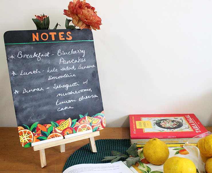 decorative chalkboard for kitchen ikea tables and chairs framed the craftables