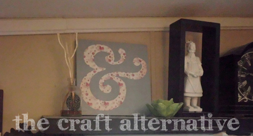 How to Make a Wood Sign with a Paper Background 8_2