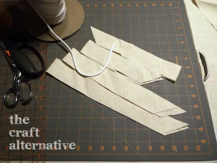 Make a Pillow with a Needlepoint Piece DSCF2263
