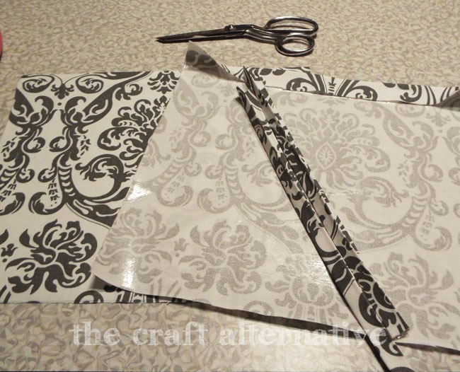 How to Make a Fabric Gift Bag_Pieces
