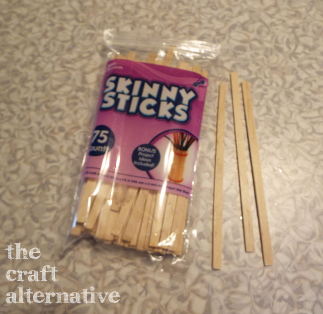 Uncommon Things in the Craft Arsenal_Popsicle Sticks