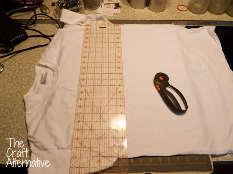 Make a T-Shirt Scarf_Cut