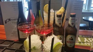 After Work Perks 5pm - 9pm every day and all day on Thirsty Thursdays