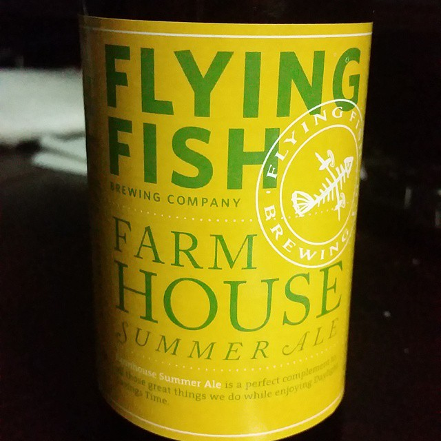 Overall, Flying Fish Brewing Co. has in the Farmhouse Summer Ale a light and refreshing session beer, a great choice ...if you don't have better options. Click through for the full review (and learn a bit about farmhouse ales too).