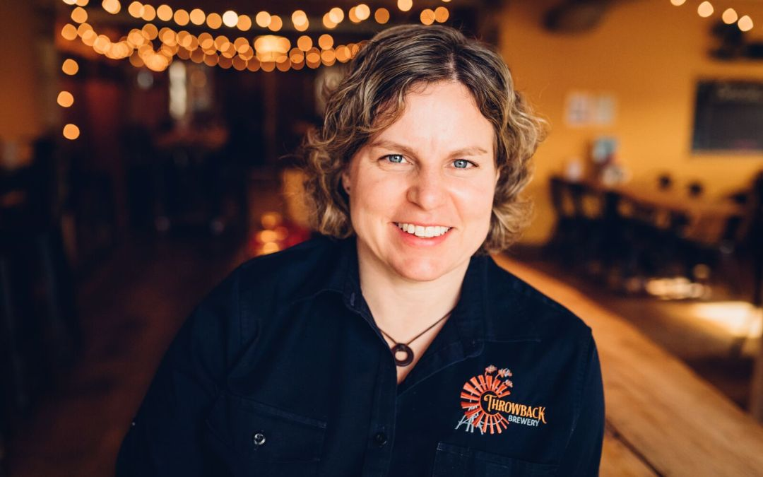 A Conversation with Nicole Carrier of Throwback Brewery