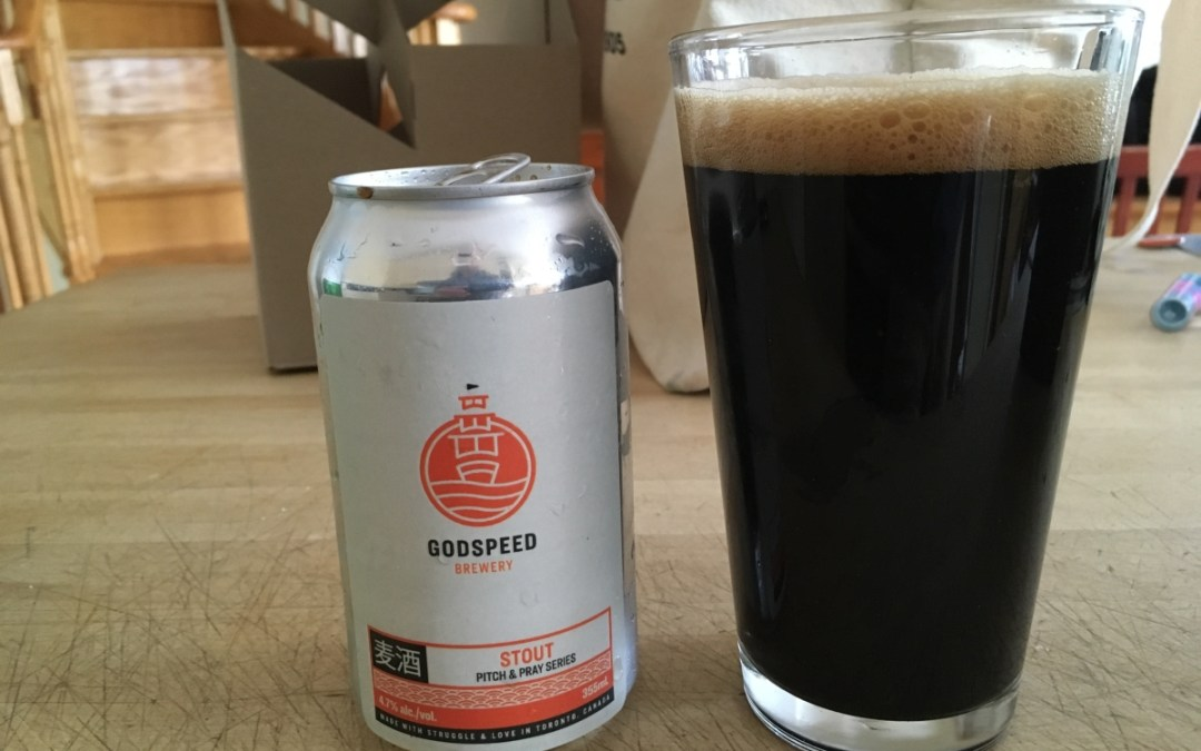 Review: Godspeed Brewery Pitch & Pray Series Stout
