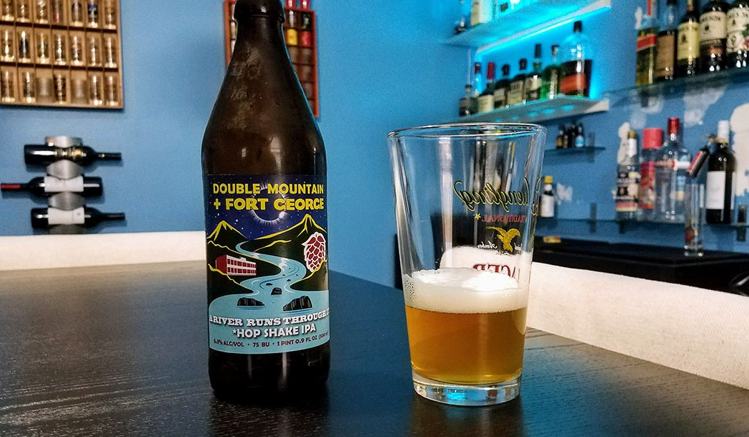 Review: River Runs Through: Hop Shake IPA by Double Mountain + Fort George