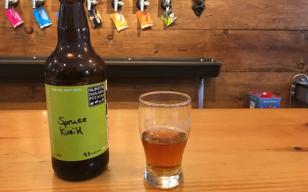 Review: Halliburton Highlands Brewing Spruce Kveik