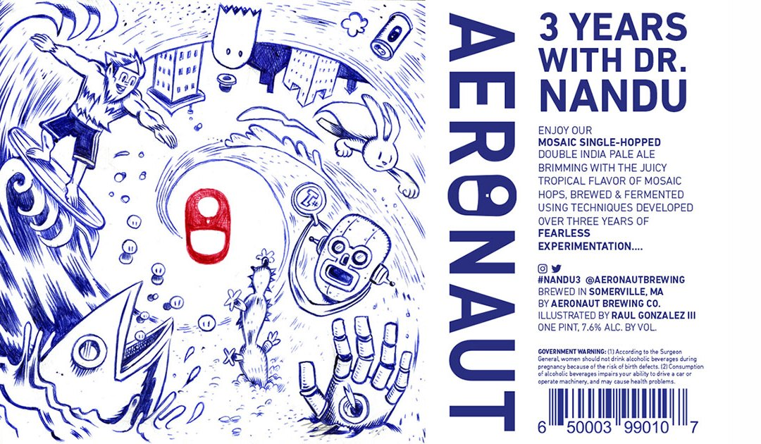 Review: 3 Years with Dr. Nandu by Aeronaut Brewing Co.