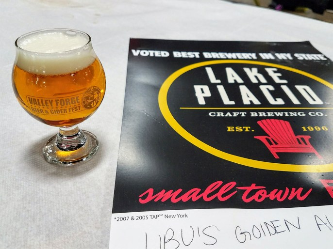 Valley Forge Beer and Cider Festival 20171104_174007 Lake Placid Craft Brewing Company Big Slide IPA
