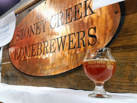 Valley Forge Beer and Cider Festival 20171104_180241 Stoney Creek Homebrewers Razz M'Taz Flanders Red Sour (5%)