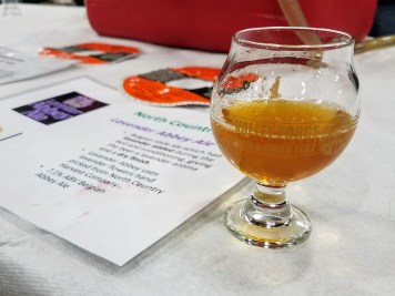 Valley Forge Beer and Cider Festival 20171104_182726 North Country Lavender Abbey Ale