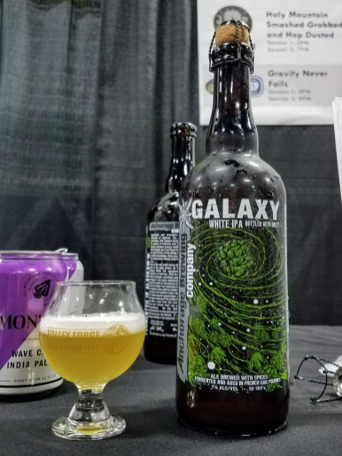 Valley Forge Beer and Cider Festival 20171104_183300 Anchorage Brewing Galaxy White IPA