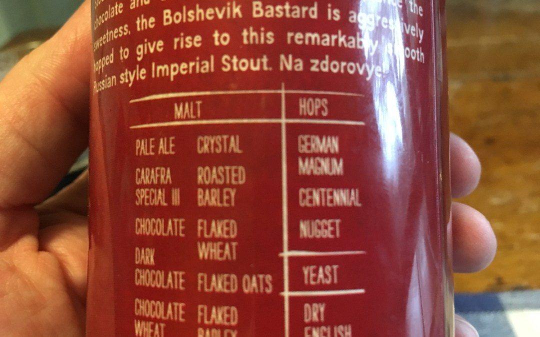 Review: Bolshevik Bastard Imperial Stout by Nickel Brook Brewing Co.