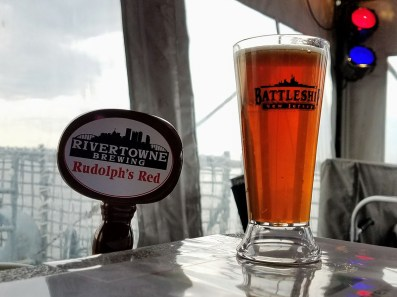 Suds & Stogies 2017 Battleship New Jersey_20171118_134539 Rivertowne Brewing Rudolph's Red