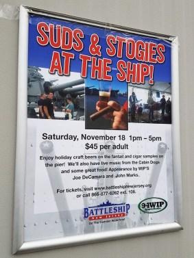 Suds & Stogies 2017 Battleship New Jersey_20171118_151430