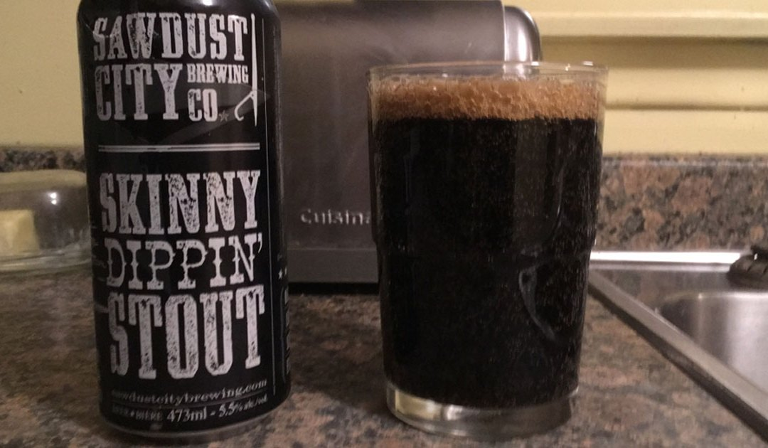 Review: Skinny Dippin' Stout by Sawdust City Brewing Co