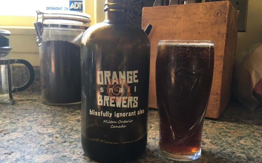 Review: Rattle 'n' Nemo by Orange Snail Brewers