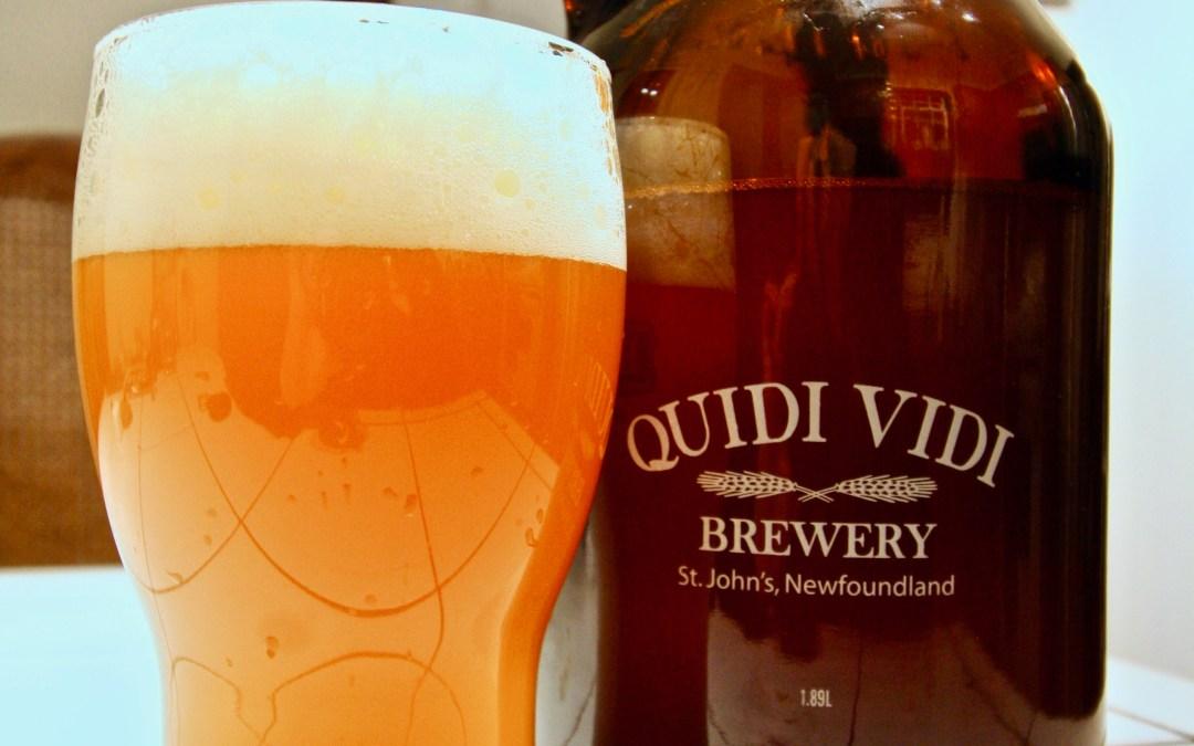 Review: Calm Tom's Double IPA by Quidi Vidi Brewing Co.