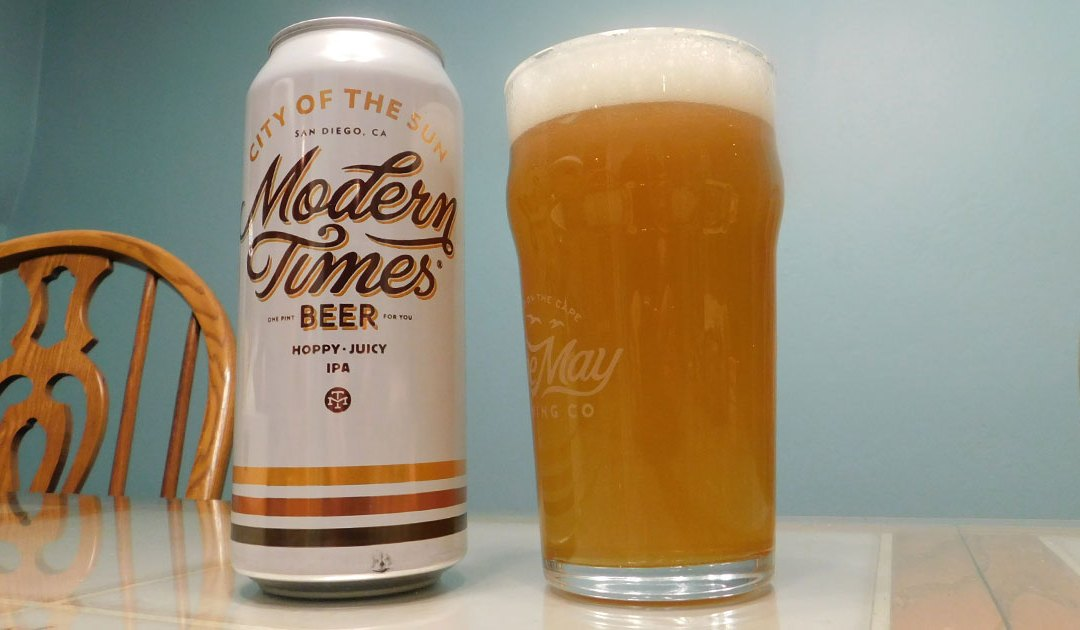 Review: City of the Sun by Modern Times Beer