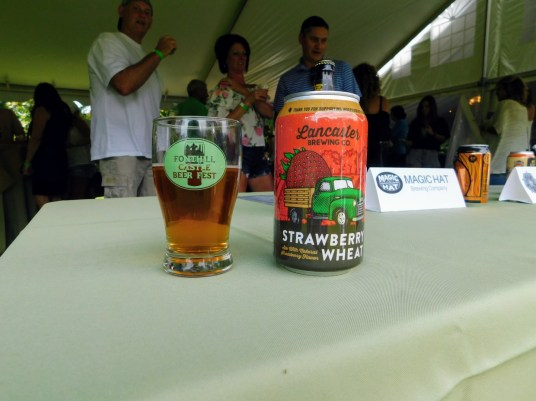 Fonthill Castle Beer Festival 2018 039 Lancaster Brewing Strawberry Wheat (Large)