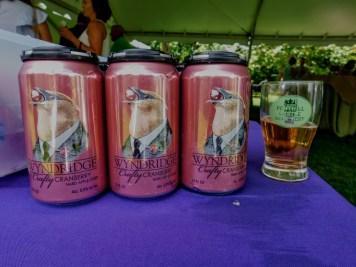 Fonthill Castle Beer Festival 2018 040 Wyndham Farm Crafty Cranberry Cider (Large)