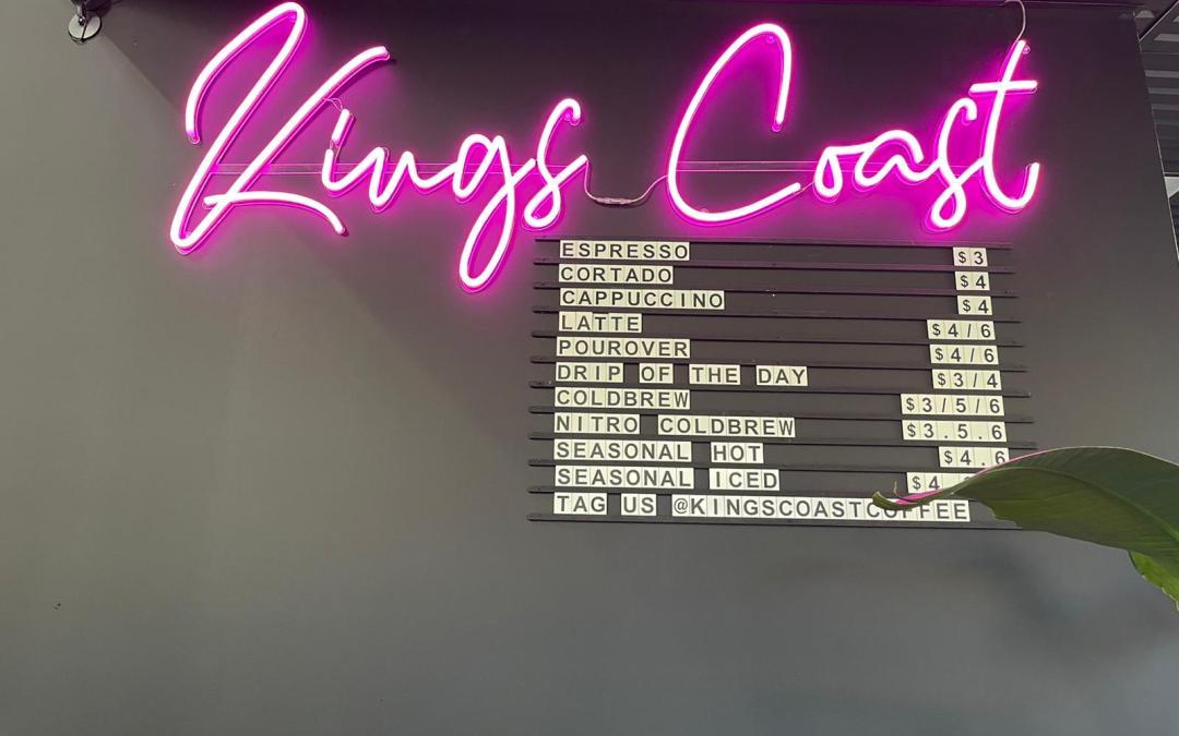 A Grade Podcast: King's Coast Coffee Company