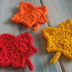 Free Leaf Crochet Pattern Diagram Block Mountains Knit Leafs