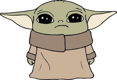 Download Baby Yoda | The Craft Chop