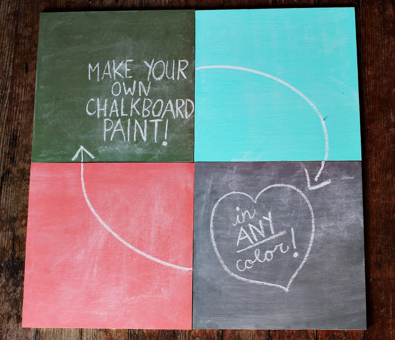 Tag  make your own chalkboard paint Archives